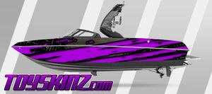 Schism Boat Wrap