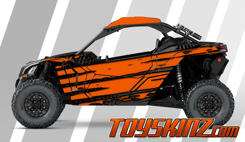 Schism UTV Wrap Can-Am Maverick X3