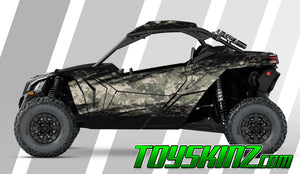 Scraper UTV Wrap Can-Am Maverick X3