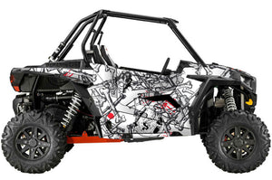 Scully UTV Wrap Polaris RzR XC and RzR S