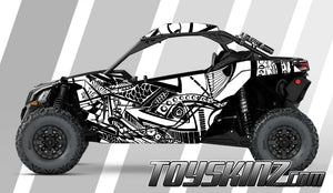Sharpie UTV Wrap Can-Am Maverick X3