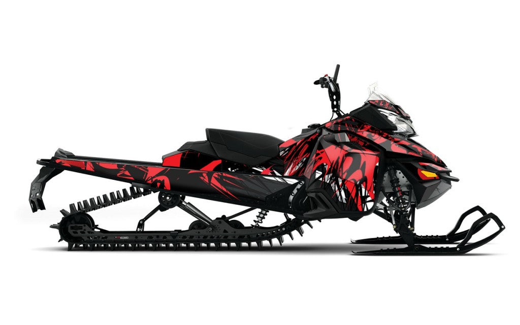 She Shreds Sled Wrap for Ski-Doo XM