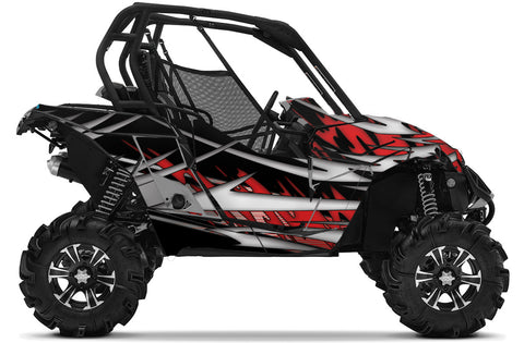 Shredz UTV Wrap Can-Am Maverick