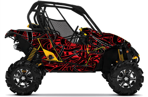 Squigg UTV Wrap Can-Am Maverick