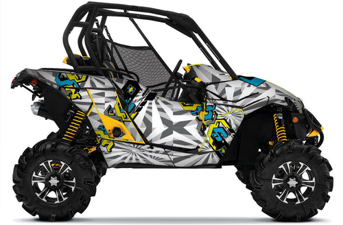 Techno UTV Wrap Can-Am Maverick or Maverick Max from Toyskinz.