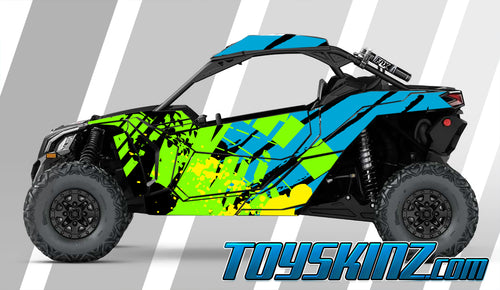 Trix UTV Wrap Can-Am Maverick X3