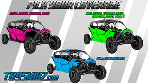HexFade UTV Wrap Can-Am Maverick X3 Max