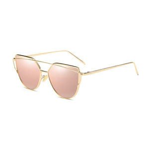 ROSE & GOLD CAT EYE SUNGLASSES
