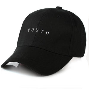 BLACK 'YOUTH' CAP