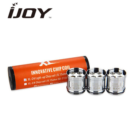 iJoy- Limitless XL Premade Innovative Chip Coils Tube (Pack of 3)