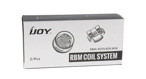 iJoy- RBM-C2 Replacement Coil for RDTA Box Mini 0.25 Ohm (Pack of 3)