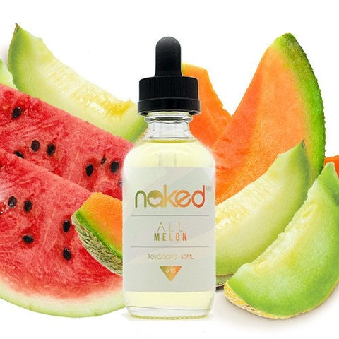 NAKED 100- All Melon (60ML) - VapeClouds.com