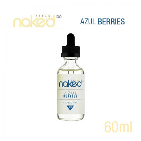 Naked 100- Cream Azul Berries (60ML) - VapeClouds.com