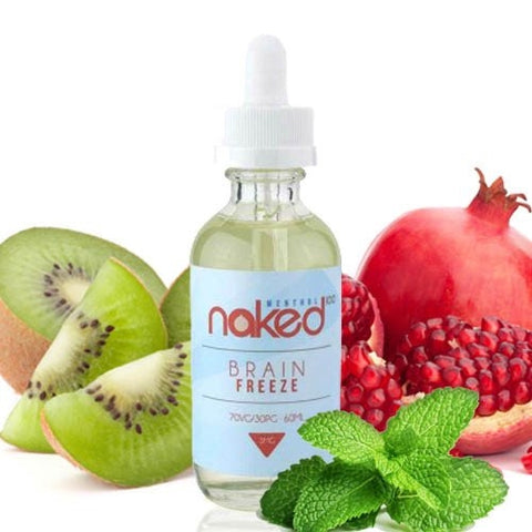 NAKED 100 - Brain Freeze (60ML) - VapeClouds.com