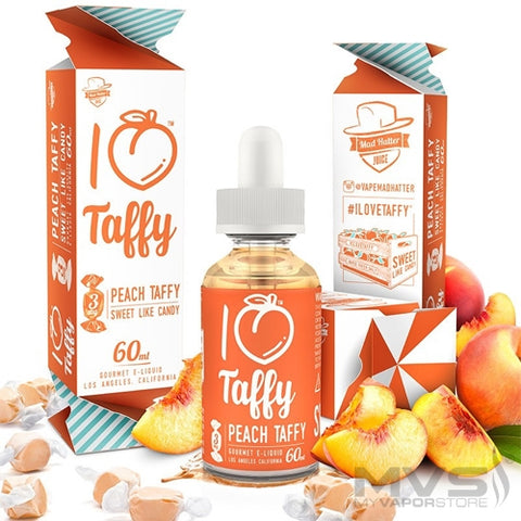 MAD HATTER- I Love Taffy (60ML) - VapeClouds.com