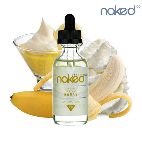 Naked 100- Cream Go Nanes (60ML) - VapeClouds.com