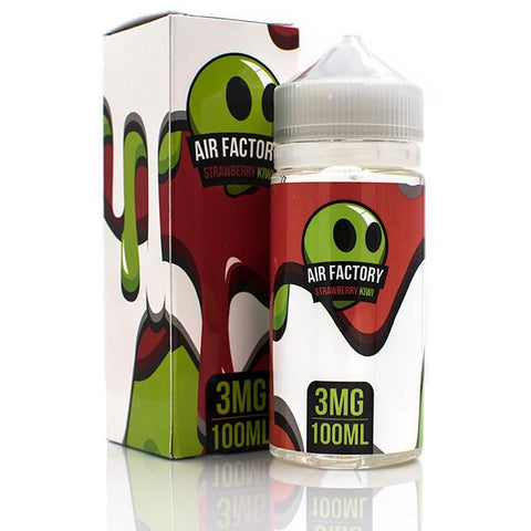 AIR FACTORY- Kiwi Strawberry (100ML) - VapeClouds.com