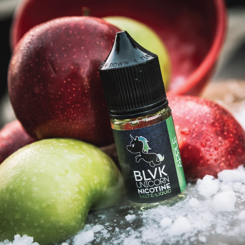 BLVK Unicorn Salts Collection- Apple Salt 30ML - VapeClouds.com