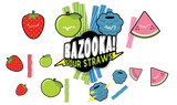 BAZOOKA! SOUR STRAWS- Strawberry Ice (60ML)