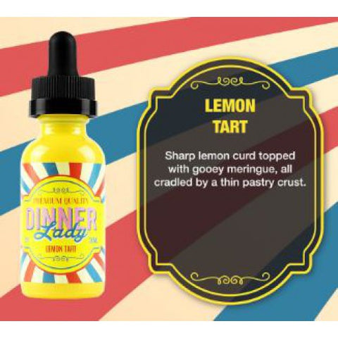 DINNER LADY- Lemon Tart (60ML) - VapeClouds.com