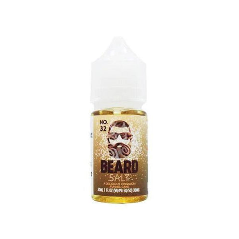BEARD VAPE SALTS – NO.32 (30ML) - VapeClouds.com