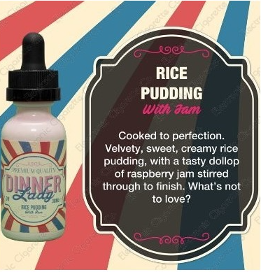 DINNER LADY- Rice Pudding (60ML) - VapeClouds.com
