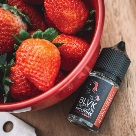 BLVK Unicorn Salts Collection- Strawberry Salt 30ML - VapeClouds.com