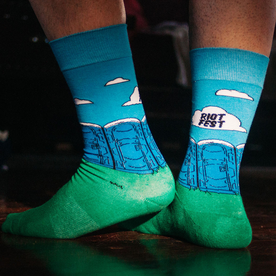 PORTA-POTTY SOCKS