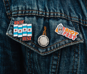 2019 ENAMEL PINS (SOLD SEPARATELY)