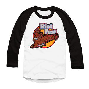 2019 EAGLE RAGLAN LONG SLEEVE YOUTH TEE