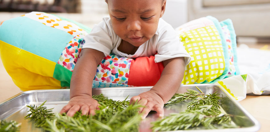 Week 16: We searched all over Pinterest for sensory tummy time ideas and got the best for you