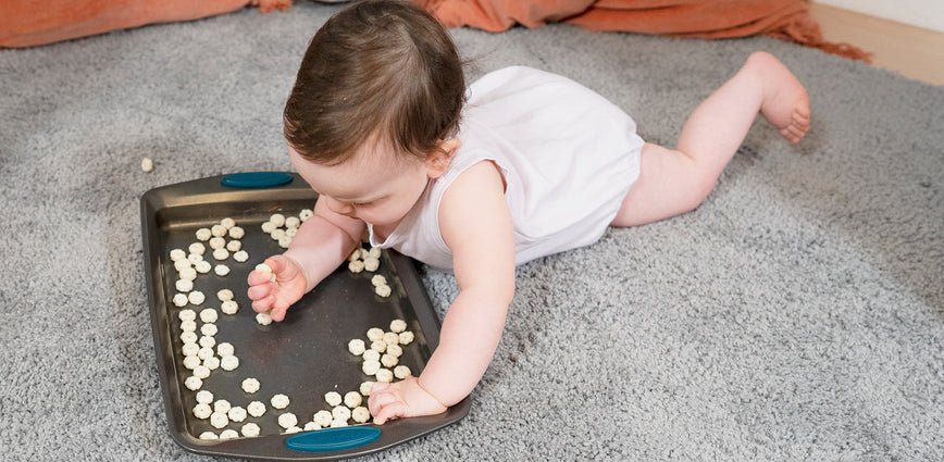 Week 38: Puffs develop your baby's fine motor skills