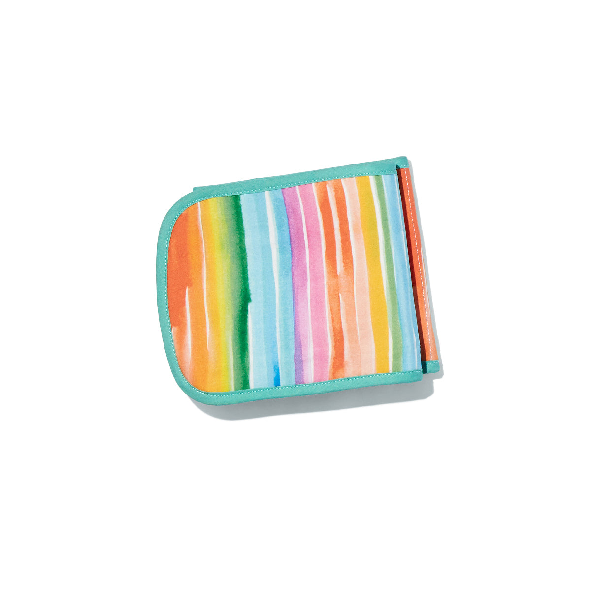 colourful stripes soft card holder