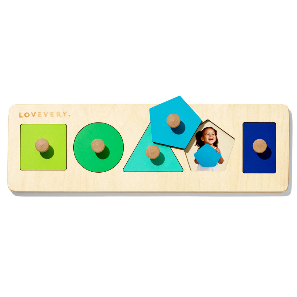 hidden faces wooden shapes toy