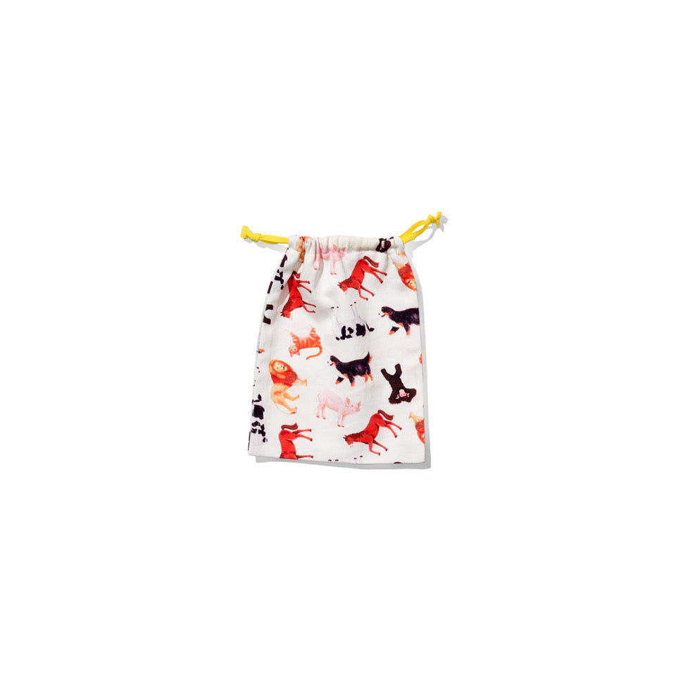 soft bag with animal images