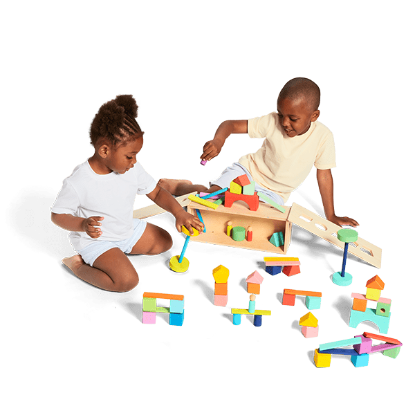 Build cities, act out stories, and create a world of wonder through open-ended play.