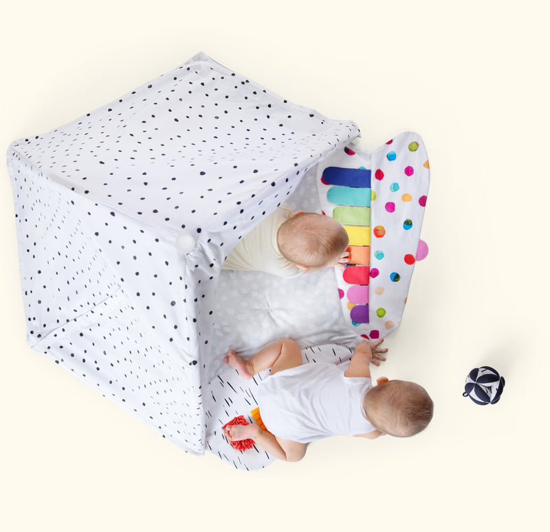 The Play Gym by Lovevery: baby play mat with 5 zones