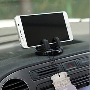 TRUE LINE Automotive Car Cell Phone Dashboard Mounted Holder 360 Degrees Swivel Mounting Kit