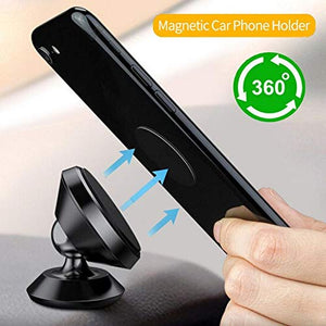TRUE LINE Automotive Car Magnet Phone Dashboard Mounted Holder 360 Degree Mounting Kit