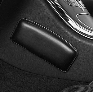 TRUE LINE Automotive Black Soft Knee Side Cushion Pad Thigh Support Comfort Pillow