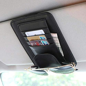 TRUE LINE Automotive Car Sun Visor Organizer Card Storage Sun Glass Credit Card Money Holder