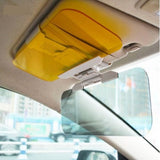 TRUE LINE Automotive Car Vehicle Extender Anti Glare Visor Blocker Tinted Sun Shield Sunscreen