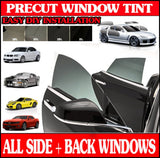 Precut Window Tint Kit For Toyota Echo 4 Door Sedan 2000 2001 2002 2003 2004 2005 2006