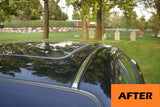 2 Piece Chrome Roof Side Molding Overlay Trim Kit