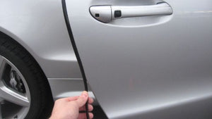 Mercedes Benz S-Class 1990-2019 Black Door Edge Molding Trim Kit