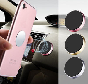 Nissan Kicks 2016-2019 Round Magnet Dash Cell Phone Holder