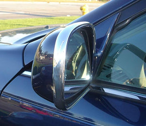Fiat 124 Spider 2017-2019 Chrome Mirror Molding Trim Kit