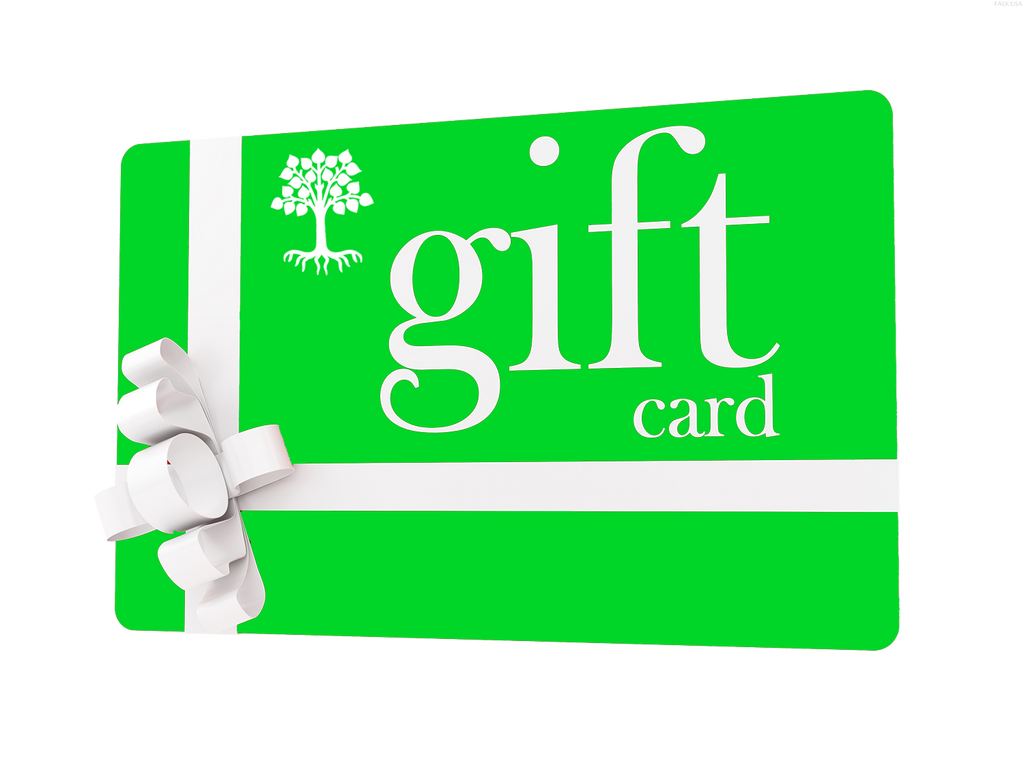 Roots Gifts Gift Card