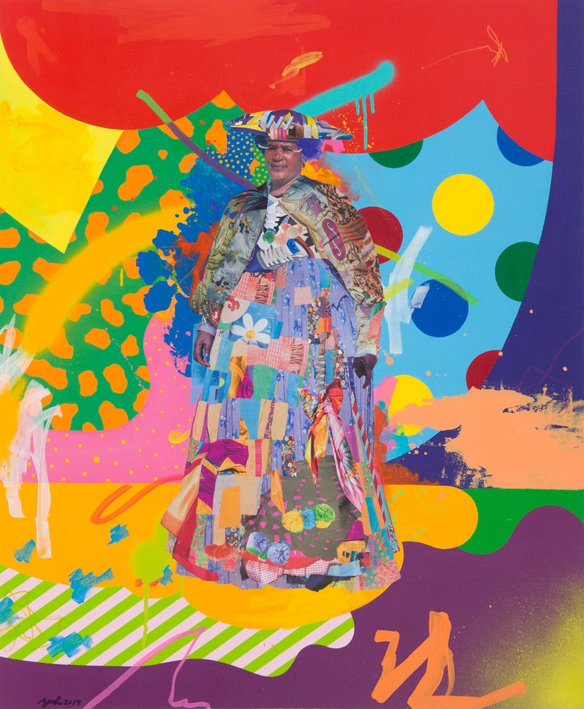 "Yoh Nagao: ""Wonder Tribe Nambia Herero Lady"""