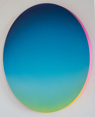 Jan Kálab: Blue Gradient 1124am, 2018